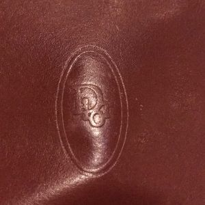Vintage Dior three part wallet